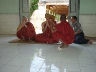Asisbiz Hmawbi Monastery Ordination Ric and Ree Dec 2000 14