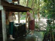 Asisbiz Hmawbi Monastery Pre ordination Ric and Ree Dec 2000 02
