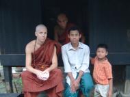 Asisbiz Hmawbi U Thuriya expriencing a monks life Jul 2001 05