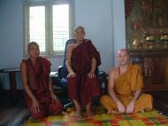 Asisbiz Hmawbi U Thuriya visiting other monks Jul 2000 04