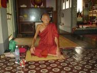 Asisbiz Hmawbi Monastery Sayadow now residing in Nibbana Dec 2000 01