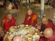 Asisbiz Hmawbi Monastery celebrating Sayadow birthday Dec 09 2000 03