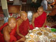 Asisbiz Hmawbi Monastery celebrating Sayadow birthday Dec 09 2000 04
