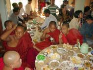 Asisbiz Hmawbi Monastery celebrating Sayadow birthday Dec 09 2000 05