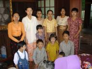 Asisbiz Hmawbi Monastery celebrating Sayadow birthday Dec 09 2000 07