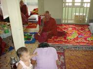Asisbiz Hmawbi Monastery celebrating Sayadow birthday Dec 09 2000 09