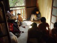 Asisbiz Hmawbi Monastery celebrating Sayadow birthday Dec 09 2000 10