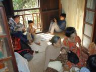 Asisbiz Hmawbi Monastery celebrating Sayadow birthday Dec 09 2000 11