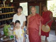 Asisbiz Hmawbi Monastery celebrating Sayadow birthday Dec 09 2000 15