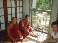 Asisbiz Hmawbi Monastery celebrating Sayadow birthday Dec 09 2000 21