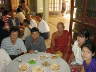 Asisbiz Hmawbi Monastery celebrating Sayadow birthday Dec 09 2000 22
