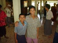 Asisbiz Hmawbi Monastery celebrating Sayadow birthday Dec 09 2000 24