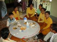 Asisbiz Hmawbi Monastery celebrating Sayadow birthday Dec 09 2000 28