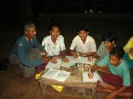 Asisbiz Hmawbi monastery locals School Work 01