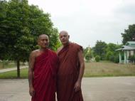 Asisbiz Hmawbi monastery main monks Jul 2001 12