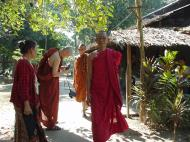 Asisbiz Hmawbi monastery monks Dec 2000 01
