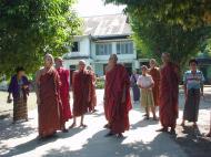 Asisbiz Hmawbi monastery monks Dec 2000 02