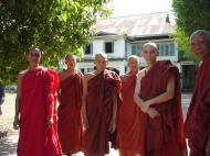 Asisbiz Hmawbi monastery monks Dec 2000 04