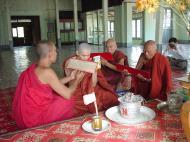 Asisbiz Hmawbi monastery monks Dec 2000 06