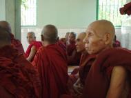 Asisbiz Hmawbi monastery monks Dec 2000 18