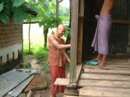Asisbiz Hmawbi monastery monks helping with construction Jul 2001 03