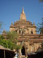 Asisbiz Bagan Htilominlo Temple Nandaungmya Myanmar Dec 2000 02