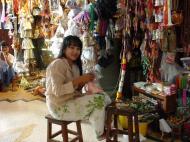 Asisbiz Kabar Aye Pagoda Peace Pagoda Arts and Crafts Dec 2000 00