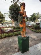 Asisbiz Kabar Aye Pagoda Peace Pagoda Bodi tree guardians 2010 01