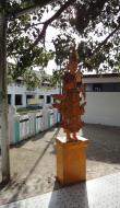 Asisbiz Kabar Aye Pagoda Peace Pagoda Bodi tree guardians 2010 03