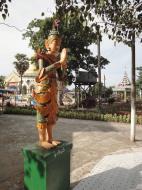 Asisbiz Kabar Aye Pagoda Peace Pagoda Bodi tree guardians 2010 06