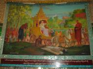 Asisbiz Kabar Aye Pagoda Peace Pagoda Painting A 2000 01
