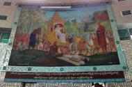 Asisbiz Kabar Aye Pagoda Peace Pagoda Painting A 2010 01