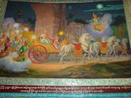 Asisbiz Kabar Aye Pagoda Peace Pagoda Painting B 2000 01