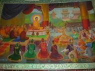 Asisbiz Kabar Aye Pagoda Peace Pagoda Painting C 2000 01
