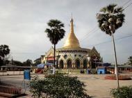 Asisbiz Kabar Aye Pagoda Peace Pagoda stupa 2010 01