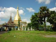 Asisbiz Kabar Aye Pagoda Peace Pagoda stupa Dec 2000 01