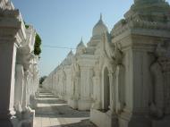 Asisbiz Mandalay Kuthodaw Pagoda worlds largest book Dec 2000 10