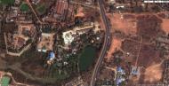 Asisbiz 1 Satelitte image Kyaik Ka Log pagoda Mingaladon area Yangon Jan 2010 01