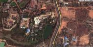 Asisbiz 1 Satelitte image Kyaik Ka Log pagoda Mingaladon area Yangon Jan 2010 02