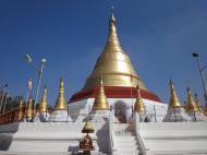 Asisbiz Kyaik Ka Log pagoda Pyay road Mingaladon area Yangon Jan 2010 03
