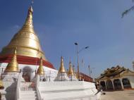 Asisbiz Kyaik Ka Log pagoda Pyay road Mingaladon area Yangon Jan 2010 06