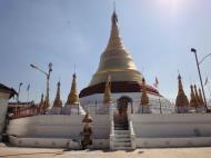 Asisbiz Kyaik Ka Log pagoda Pyay road Mingaladon area Yangon Jan 2010 13