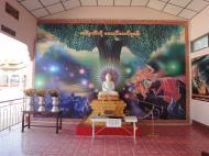 Asisbiz Kyaik Ka Log pagoda artwork Pyay road Mingaladon area Yangon Jan 2010 01