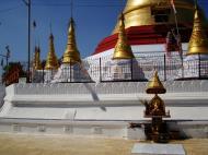 Asisbiz Kyaik Ka Log pagoda compass rose Zodiac day born Tuesday sign SE Lion 01