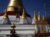 Asisbiz Kyaik Ka Log pagoda compass rose Zodiac day born Tuesday sign SE Lion 03