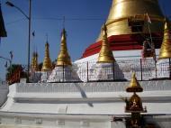 Asisbiz Kyaik Ka Log pagoda compass rose Zodiac day born Tuesday sign SE Lion 04