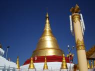 Asisbiz Kyaik Ka Log pagoda hintha pillar Pyay road Mingaladon area Yangon Jan 2010 01