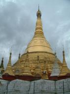 Asisbiz Thanlyin Kyaik Kauk Pagoda stupa July 2001 01
