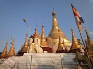 Asisbiz Thanlyin Kyaik Kauk pagoda stupa Dec 2009 03