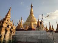 Asisbiz Thanlyin Kyaik Kauk pagoda stupa Dec 2009 06